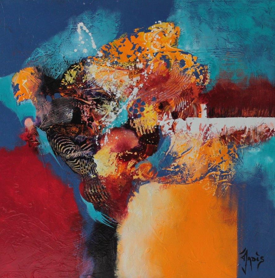 Peinture abstraite art abstrait for Artiste art abstrait
